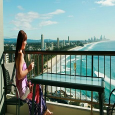 Penthouse Apartments at Gemini Court Holiday Apartments Burleigh Heads