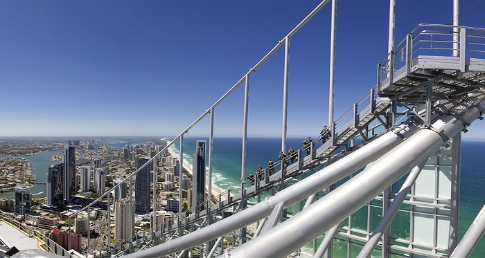 SkyPoint Observation Deck at the top of Q1 Surfers Paradise