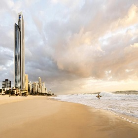 Sub Penthouse Apartments at Soul Surfers Paradise Gold Coast