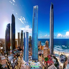 Sub Penthouse Apartments at Hilton Surfers Paradise Residences Gold Coast