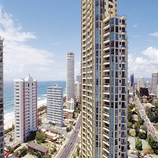 Sub Penthouse Apartments at Sun City Surfers Paradise Gold Coast